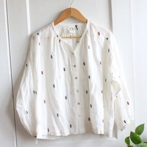 Anthropologie Blouse-S